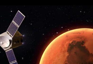 """القمر الصناعي الإماراتي يتجة الى الكوكب الأحمر """"المريخ"""""""