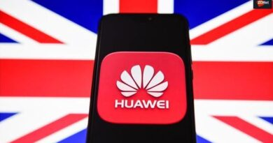 منتجات شركة هواوي الصينية مهددة بالحظر من قبل الحكومة البريطانية.