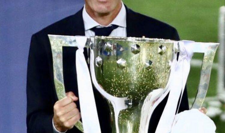 زيدان مدرب النادي الملكي: فوزنا بلقب الدوري الإسباني لا يضاهية فوز.