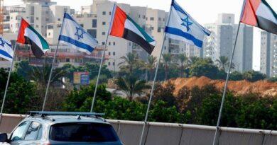 الإمارات: تستقبل الرحلة الجوية الاولى من إسرائيل الى أرض دولتها